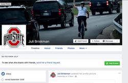 Juli Briskman's Facebook