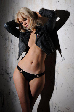 Jo Marney posing