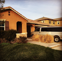 Family home in Perris, California
