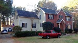 Christian Thomas McCall's residence in York, South Carolina