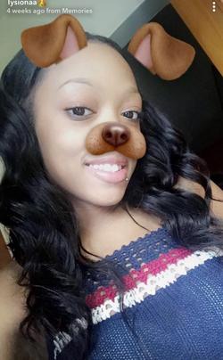 Using a Snapchat filter