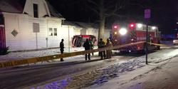 Authorities at the scene