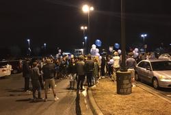 Vigil held for John Albers