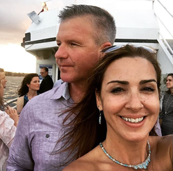 Selfie                               of Sara Carter and her husband Marty                                                                  [41]                                                               