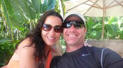 Sara and her husband Marty