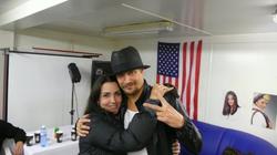 Sara Carter withKid Rock