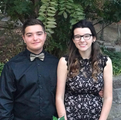 Photo of Gage Smock with his late girlfriend Bailey Nicole Holt​