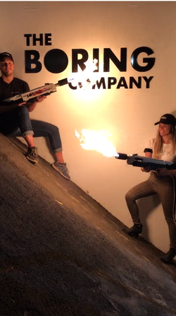 The Boring Company's promotional photo