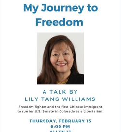 Lily Tang Williams poster