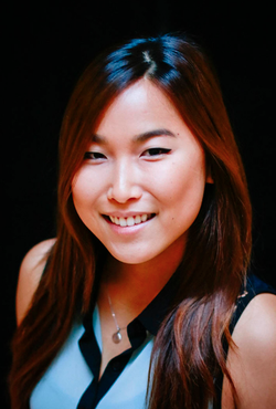 Melissa Yang pictured on Asian American Journalist Association