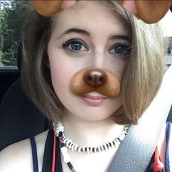 Using aSnapchat filter