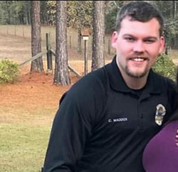 Officer Maddox pictured on Facebook​