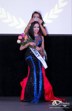 Being crowned Miss New Jersey 2015