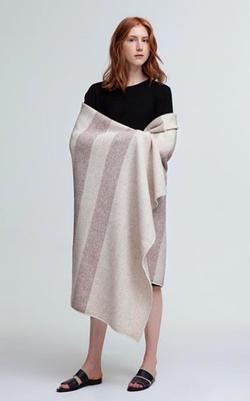 alpaca-cashmere Exmoor blanket