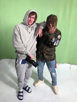 Juice WRLD and Cole Bennett