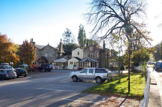 Keighley - Hotel car park