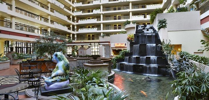 Hotel Atrium Fountain