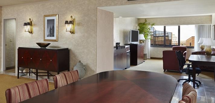Capital Suite Living Area