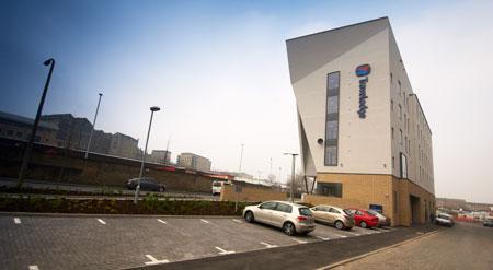 Bradford Central - Hotel car park