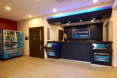 Aldershot - Hotel reception