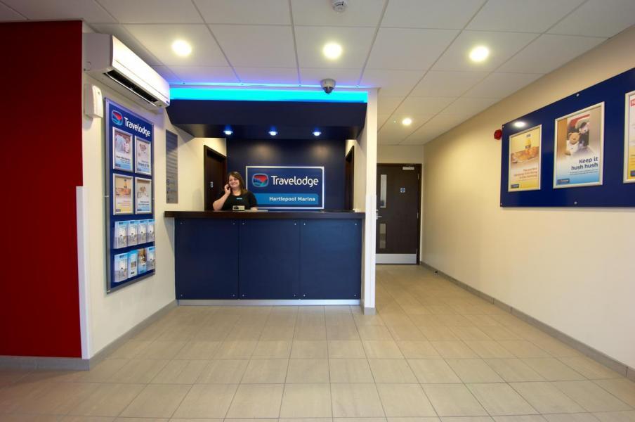 Hartlepool Marina - Hotel reception