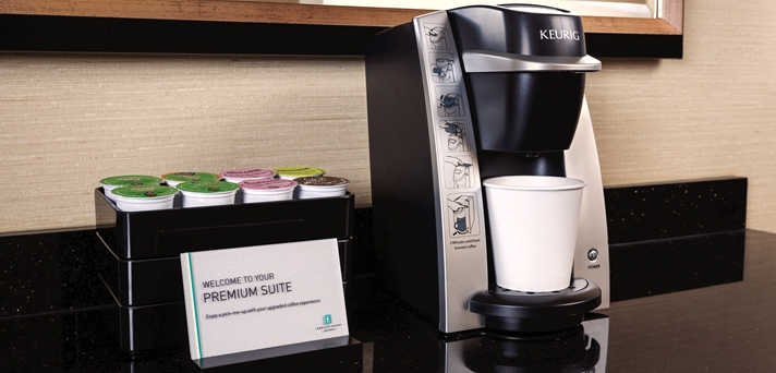 In-room Coffee Station