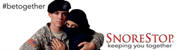Lexy Panterra (right) is behind the veil of a billboard ad deemed controversial depicting an American soldier embracing a Muslim girl