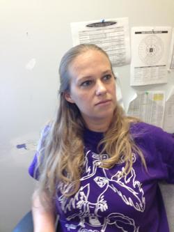 Melissa Bonkoski at school                                                                          [8]                                                                       