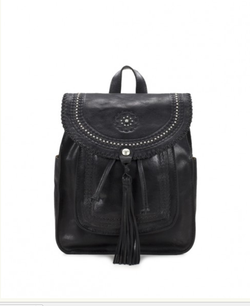 The Jovanna Backpack Distressed Black