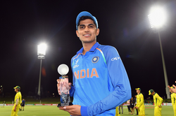 Shubman Gill was named player of the tournament for the U-19 World Cup                                                                  [2]                                                               ​