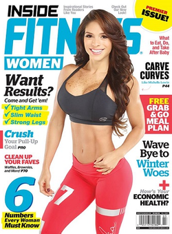 Michelle on the cover Inside Fitness