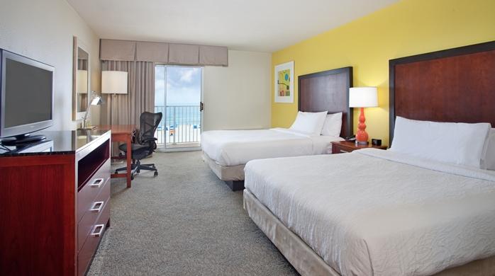 2 Queen Beds Ocean View Guest Room