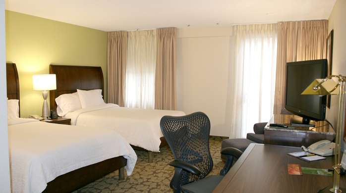 Double Beds Guestroom