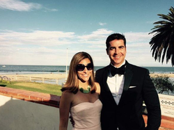 Noelle Watters and her ex-husband,                               Jesse Watters                              ​.