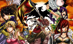 Fairy Tail,anime favorite of Emil Cerda.