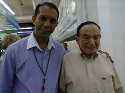 Nelson Cerda (father of Emil) and Mario Lama