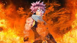 Natsu Dragneel, favorite anime character of Emil Cerda. He met him when his brother Franger was watching the chapter of Natsu vs. Jellal. Emil was shocked by such a character, who to this day still loves him. He says he will name one of his sons Natsu. Franger has exactly the same Natsu tattoo, but black.