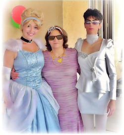 Photo of Nasim dressed up with Disney characters [14]