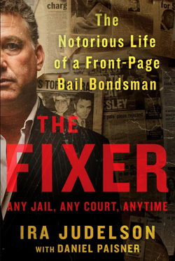 Photo of the book that he has written called, The Fixer.