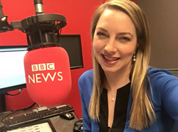 Emma Vardy pictured in December 2017