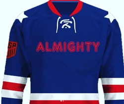Almighty Hockey Jersey