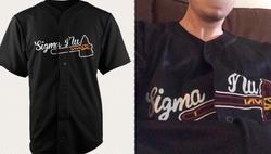 Sigma Chi                                                             Atlanta Braves                               Baseball Jersey