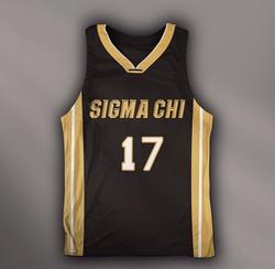 Sigma Chi                               Basketball Jersey