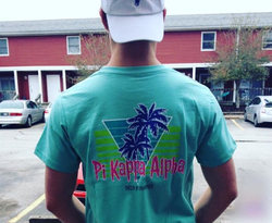 Someone wearing a                               Pi Kappa Alpha                              ​