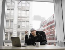 Alan in office located in SOHO, NY