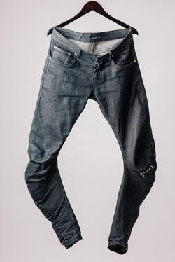 AKINGSNY J-cut Raw Denim
