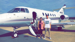 Boarding a private jet with Sean Kelly (Entrepreneur)​