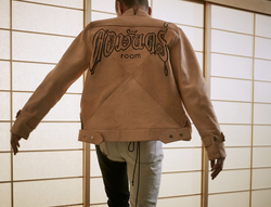Khoman Room Collection 2 Leather Bomber