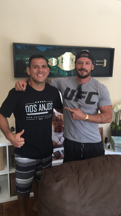 Kaio Goncalves with UFC Fighter