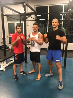 Kaio Goncalves training with world class athletes